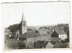 Panorama Du Centre De Givry - Circulée En 1946 - Edit. G. Godard, Levant De Mons - 2 Scans - Quevy