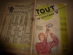 1950 TLSD : Comment -->Eolienne;Guitare;Acheter Voiture Occas;Cloture élec;Chalet;Métier à Tisser;Avion-jouet;Glace;etc - Bricolage / Technique