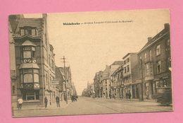 C.P. Middelkerke = Avenue  Leopold  Côté  Ouest  Du  Kursaal - Middelkerke