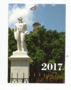 Petit Calendrier 2017 Cubain, Etat Neuf - Calendarios