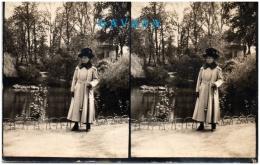 16 COGNAC - Photo Prise Au Jardin Public De Cognac   (Recto/Verso) - Cognac