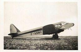 Themes Div -ref T418- Aviation -avions - Istres Aviation - Avion Postal Leger Potez  -carte Bon Etat - - Flugzeuge