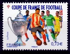 France, Coupe De France, Football, Centenary, 2017, MNH VF - Francia