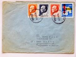 YOUGOSLAVIE / JUGOSLAWIEN => SCHWEIZ / SUISSE // Brief, 1972, Von VRBAS Nach BADEN - 1945-1992 République Fédérative Populaire De Yougoslavie