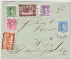 YU-BH002 / Seltene Frühe Frankatur 1919 Entwertet Mit Aptirtem Stempel Sarajevo - 1919-1929 Königreich Der Serben, Kroaten & Slowenen