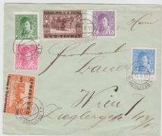 YU-BH002 / JUGOSLAWIEN -  Seltene Frühe Frankatur 1919 Entwertet Mit Aptirtem Stempel Sarajevo - 1919-1929 Königreich Der Serben, Kroaten & Slowenen