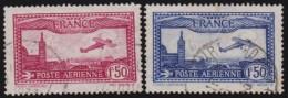 France   .    Yvert      .      Poste Aérienne .  5/6         .         O   .         Oblitéré - Luftpost