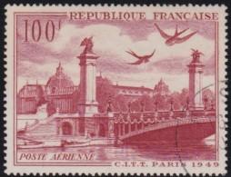 France   .    Yvert      .      Poste Aérienne .    28        .         O   .         Oblitéré - 1927-1959 Usati
