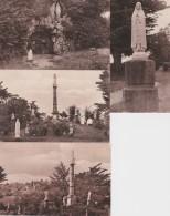 Bg - Lot De 4 Cpa LEGE - Le Jardin De La Vierge Et La Grotte De Lourdes - Legé