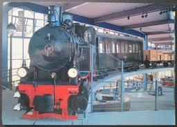 OLD POSTCARD - CP - TENDERLOKOMOTIVE DER FA. JUNG 1930 - TRAIN  SAMMLUNG STADTMUSEUM LUDENSCHEID - UNPOSTED UNCIRCULATED - Trenes