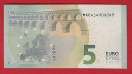 5 EURO M001 E5 PORTUGAL M001E5 MA0434909099 UNC FDS NEUF - EURO