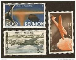 Réunion PA N°42/44 N** LUXE Cote 60 Euros !!! - Réunion (1852-1975)