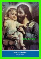 RELIGIONS - SANCTE JOSEPH - SAINT JOSEPH & JÉSUS -  MONASTÈRE DU MAGNIFICAT DE LA MÈRE DE DIEU, ST-JOVITE, QUÉBEC - Saints