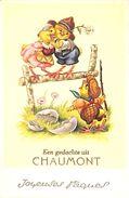 Een Gedachte Uit Chaumont - Joyeuses Pâques (oiseaux, Animée) - Chaumont-Gistoux