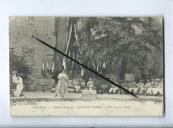 CPA -  - Orange - Théâtre Romain - Journée Serbe - Mlle Jeanne Kirch - Orange