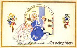 Souvenir De Oeudeghien (religion, Animée) - Frasnes-lez-Anvaing