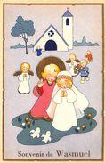 Souvenir De Wasmuel (animée, Religion) - Quaregnon