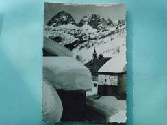 V07-74-D2-74-haute Savoie--montroc Le Tour-paysage D'hiver -les Aiguilles Rouges-- - Sonstige Gemeinden