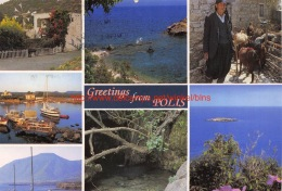 Greetings From Polis - Cyprus - Chypre