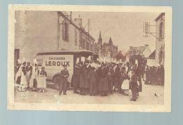 CP (59) Orchies -  Camion Chicorée Leroux En Bretagne - Costumes Bretons - Orchies