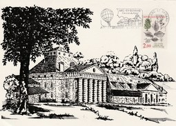 ARC ET SENANS  DOUBS  25  CENTRE DU FUTUR   MONTGOLFIERE N°2385 - Marcophilie (Lettres)