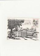 ARC ET SENANS  DOUBS  25  CENTRE DU FUTUR   MONTGOLFIERE N°2385 SUR CARTE POSTALE - Postmark Collection (Covers)
