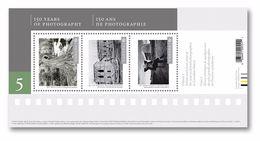 Canadian Photography - Souvenir Sheet (three Stamps) - Ungebraucht