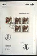 BRAZIL BrochUre Edital Nº 26 - 1980 - Chess With Stamps - Brasil
