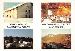 Bonlieu Gîtes Camping Restaurant Canton Saint Laurent En Grandvaux - Altri Comuni