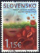 Slovakia 2015 1 V Used The Centrum Of Bone Marrow Transplantation - Medicine