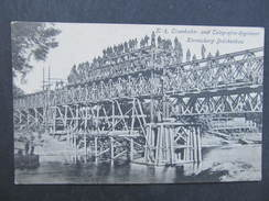 AK KORNEUBURG Brückenbau Ca.1915/// D*25710 - Korneuburg