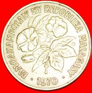 § FRANCE: MADAGASCAR ★ 20 FRANCS 1970!  LOW START★ NO RESERVE! - Madagascar