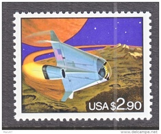 US 2543    **    FUTURISTIC  SPACE  SHUTTLE - United States