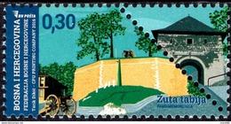 Bosnia & Herzegovina - Sarajevo - 2016 - Yellow Bastion - Mint Stamp - Bosnie-Herzegovine