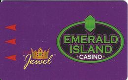 Emerald Island Casino - Henderson NV - BLANK Club Jewel Slot Card - Casino Cards