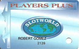 Slotworld Casino - Carson City, NV - Slot Card - Casino Cards