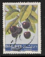 Lebanon, Scott # 392 Used Cherries, 1962 - Liban