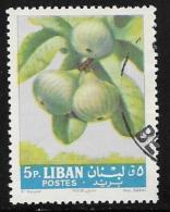 Lebanon, Scott # 395 Used Figs, 1962 - Lebanon