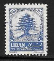 Lebanon, Scott # 407 Used Cedar, 1964 - Lebanon