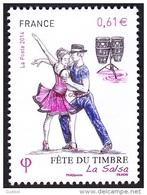 France Philatélie N° 4904 ** Journée Du Timbre - Danse - La Salsa - Tag Der Briefmarke