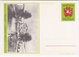 Poland Lithuania 1971 Pulawy, Fasada Palacu, Facade Of The Palace - Stamped Stationery