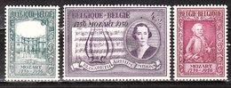 987/89*  Mozart - Série Complète - MH* - LOOK!!!! - Unused Stamps