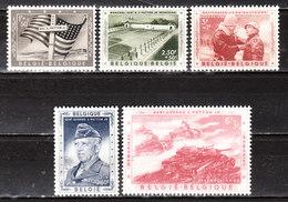 1032/36*  Bataille Des Ardennes - Général Patton - Série Complète - MH* - LOOK!!!! - Unused Stamps