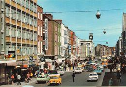 Irlande Limerick City Très Animée O'Connel Street Commerces Voitures - Limerick