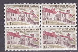 N° 1645 Série Touristique Abbaye De Chancelade ( Dordogne ) : 1 Bloc De 4 Timbres Neuf Sans Charnière Impeccable - Frankrijk