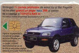 TELECARTE ROUMANIE TOYOTA 1996 10 000 LEI - Roumanie