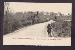 CPA 63 - COUPE GORDON BENNETT ( 1905 ) - COURSE AUTOMOBILE - Circuit MICHELIN - La Route Avant HERMENT ANIMATION - Motorsport