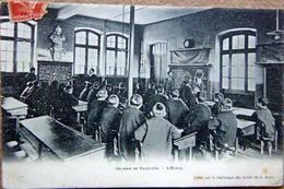 ENSEIGNEMENT COLONIE DE VAUCLUSE  SALLE DE CLASSE PEDAGOGIE - Schools