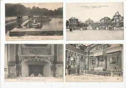 Cp , 78 , CHATEAU DE VERSAILLES , LOT DE 4 CARTES POSTALES - Versailles (Kasteel)