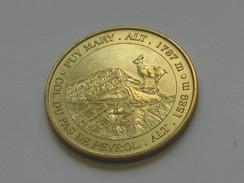 Monnaie De Paris  - Puy Mary.alt 1787 M - Col Du Pas De Peyrol  2004    **** EN ACHAT IMMEDIAT  **** - Monnaie De Paris